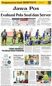 Cover Jawa Pos 10 Juli 2019
