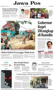 Jawa Pos Cover 11 July 2019