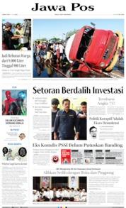 Jawa Pos Cover 12 July 2019