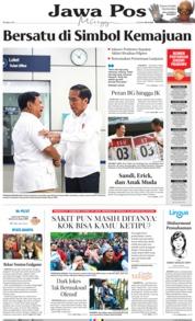 Jawa Pos Cover 14 July 2019