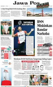 Jawa Pos Cover 18 July 2019