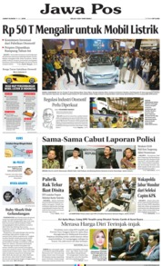 Jawa Pos Cover 19 July 2019