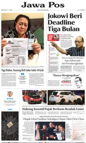 Jawa Pos Cover 20 July 2019