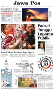 Jawa Pos Cover 23 July 2019