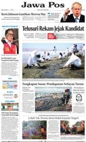 Jawa Pos Cover 24 July 2019