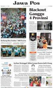 Cover Jawa Pos 05 Agustus 2019