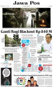 Cover Jawa Pos 06 Agustus 2019
