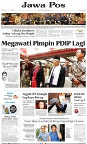 Cover Jawa Pos 09 Agustus 2019