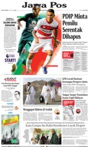Cover Jawa Pos 10 Agustus 2019
