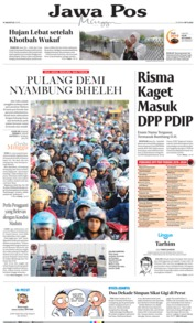 Jawa Pos Cover 11 August 2019