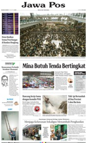 Jawa Pos Cover 13 August 2019