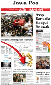 Jawa Pos Cover 14 August 2019