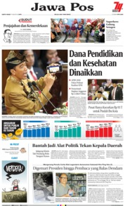 Jawa Pos Cover 17 August 2019