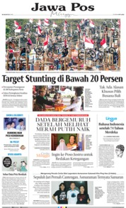 Jawa Pos Cover 18 August 2019