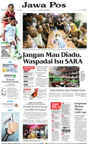 Jawa Pos Cover 20 August 2019