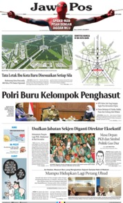Jawa Pos Cover 22 August 2019