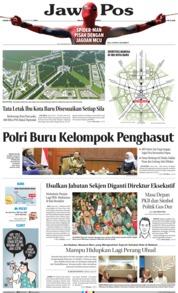 Cover Jawa Pos 22 Agustus 2019