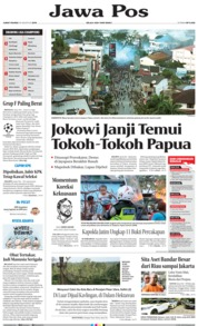 Jawa Pos Cover 30 August 2019