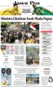 Jawa Pos Cover 31 August 2019