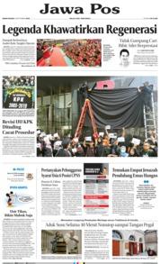 Cover Jawa Pos 09 September 2019