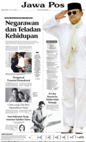 Jawa Pos Cover 12 September 2019