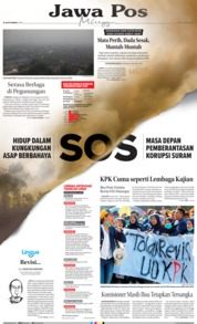 Jawa Pos Cover 15 September 2019