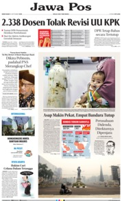 Jawa Pos Cover 16 September 2019