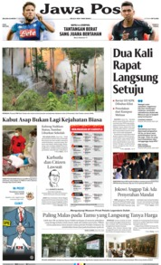 Jawa Pos Cover 17 September 2019