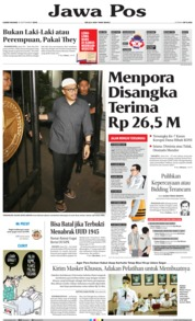 Jawa Pos Cover 19 September 2019