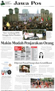 Jawa Pos Cover 20 September 2019