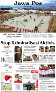 Cover Jawa Pos 28 September 2019