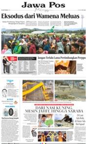 Cover Jawa Pos 29 September 2019