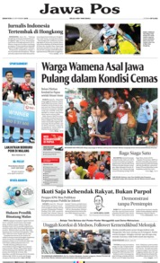 Cover Jawa Pos 30 September 2019