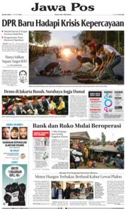 Cover Jawa Pos 01 Oktober 2019