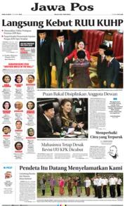 Cover Jawa Pos 02 Oktober 2019