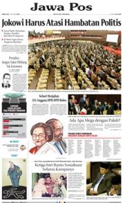 Cover Jawa Pos 03 Oktober 2019