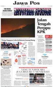 Cover Jawa Pos 06 Oktober 2019