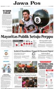 Jawa Pos Cover 07 October 2019