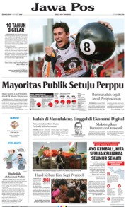 Cover Jawa Pos 07 Oktober 2019