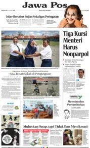 Cover Jawa Pos 08 Oktober 2019
