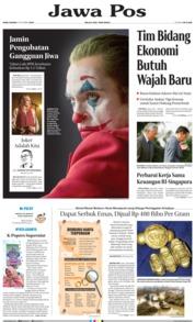 Jawa Pos Cover 09 October 2019