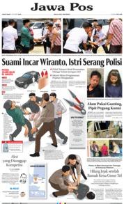 Jawa Pos Cover 11 October 2019
