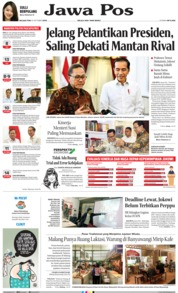 Jawa Pos Cover 15 October 2019