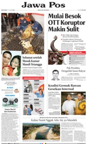Jawa Pos Cover 16 October 2019