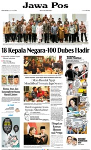 Jawa Pos Cover 19 October 2019