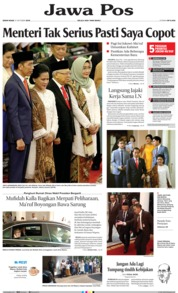 Jawa Pos Cover 21 October 2019