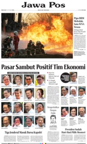 Jawa Pos Cover 23 October 2019