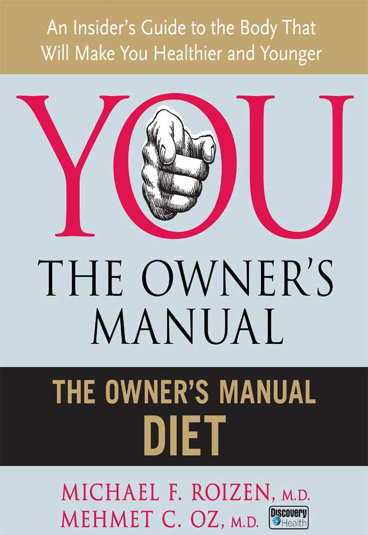 nutrition the owners manual owners manual for the brain