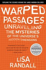 Warped Passages by Lisa Randall Cover