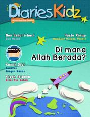 Diaries Kidz Magazine Cover ED 01 2014